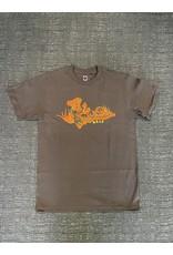 WKND brand WKND Scheming T-shirt - Brown (size X-Large)