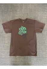 WKND brand WKND Tom's Garden T-shirt - Brown  (size X-Large)