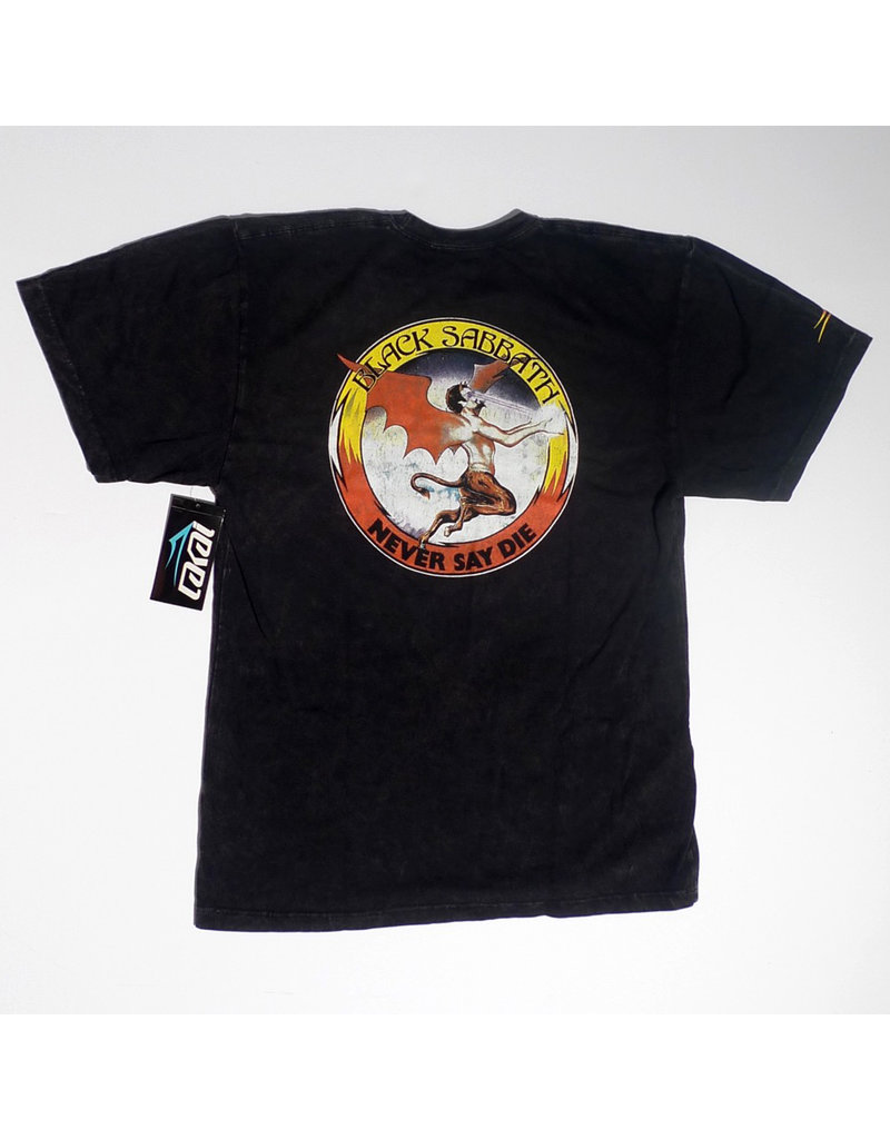 Lakai Lakai x Black Sabbath Never Say Die Premium T-shirt - Gunmetal Heather