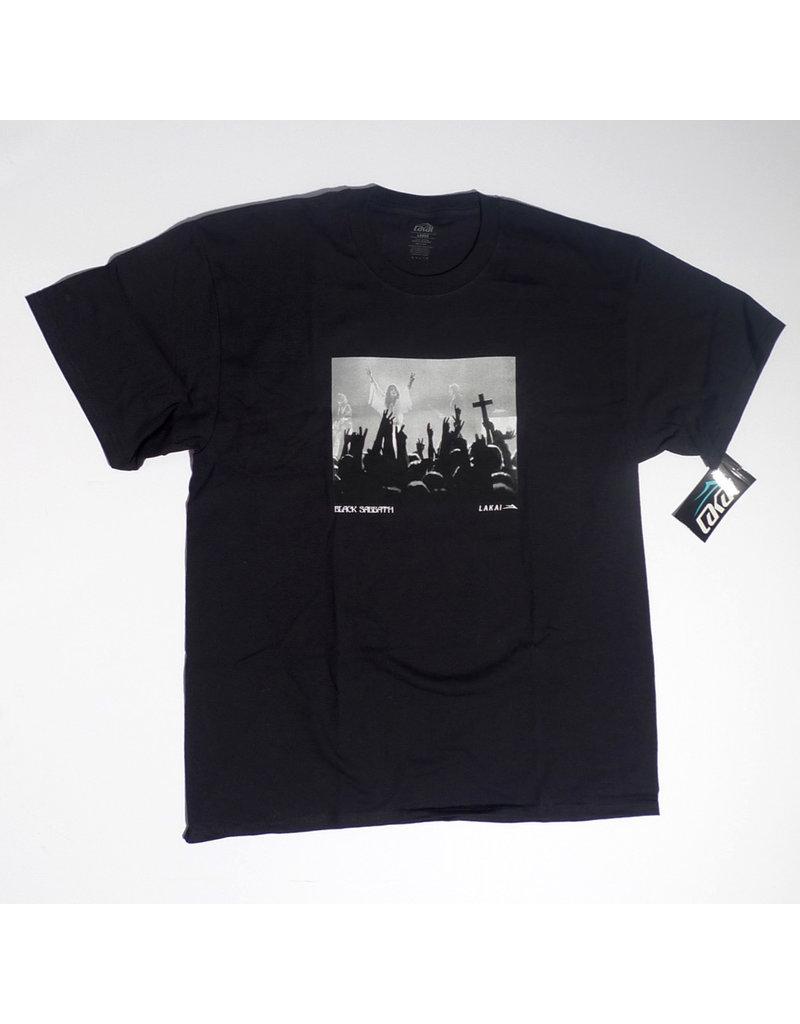 Lakai Lakai x Black Sabbath Tour Photo T-shirt - Black