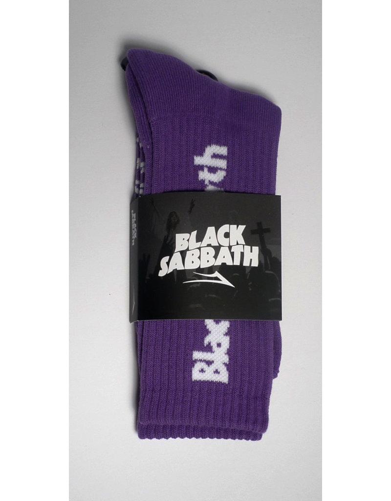 Lakai Lakai x Black Sabbath Crew Sock - Purple