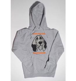 Quasi Quasi Happiness Hooded Sweatshirt - Heather Grey