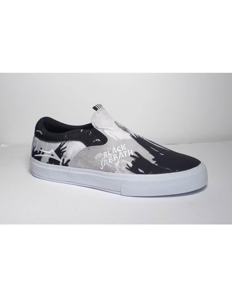 Lakai Lakai x Black Sabbath Owen VLK - Black/White Canvas