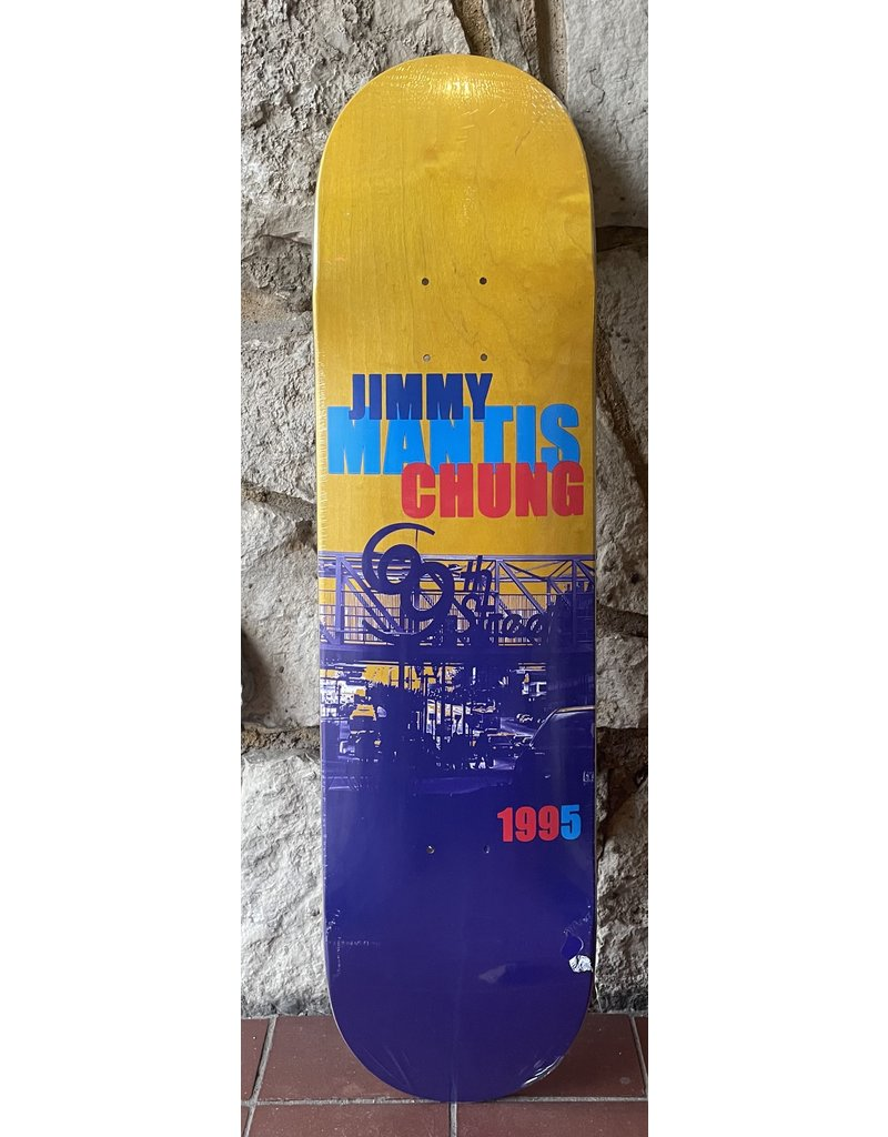 Dead On Arrival D.O.A. Chung 69th st Yellow Stain Deck - 8.125