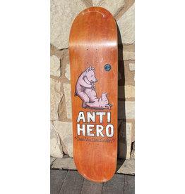 Anti-Hero Anti-Hero Daan Lovers II Orange Stain Deck - 8.38 x 32.25