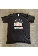 Indoorsy T-shirt (by Pete Grannis) - Black (size Small or Large)