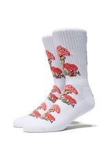 Psockadelic Psockadelic Mushroom Picker Socks - White
