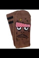Toy Machine Toy Machine Poo Poo Head Socks - Brown