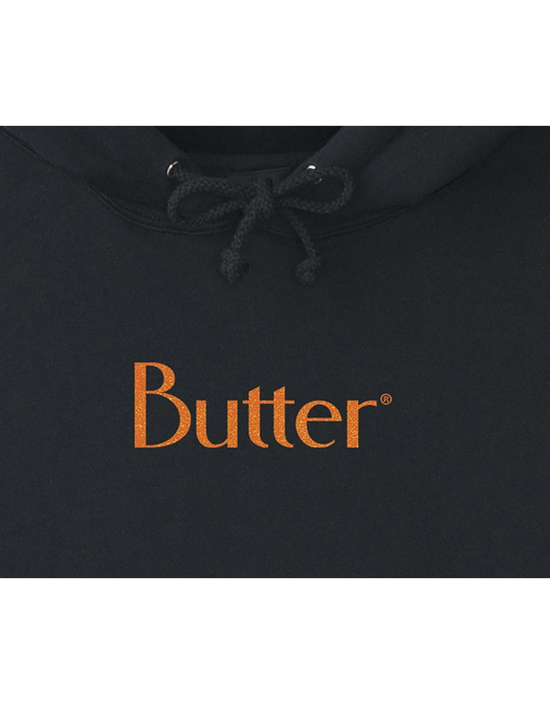 Butter Goods Butter Goods Speckle Classic Pullover Hoodie - Black (size X-Large)