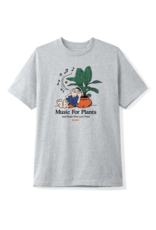 Butter Goods Butter Goods Music For Plants T-Shirt - Ash Grey
