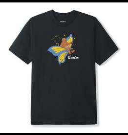 Butter Goods Butter Goods Butterfly T-Shirt - Black (size Medium)