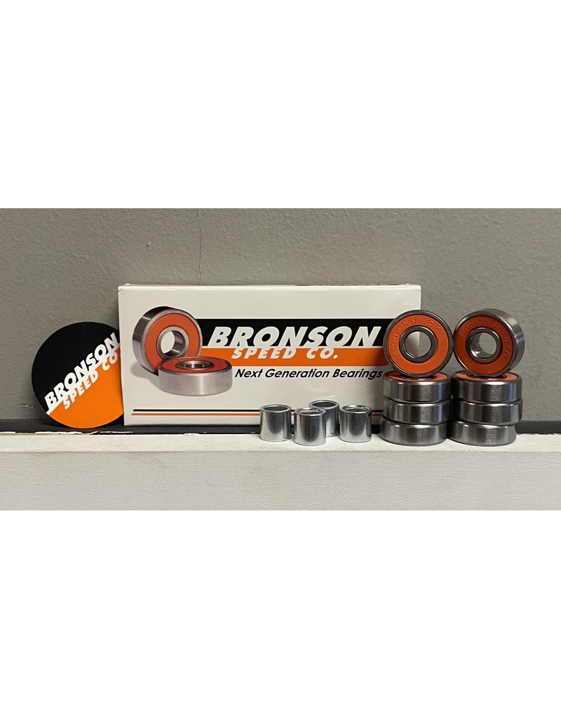 Bronson Speed co. Bronson G2 Bearings (Set of 8)