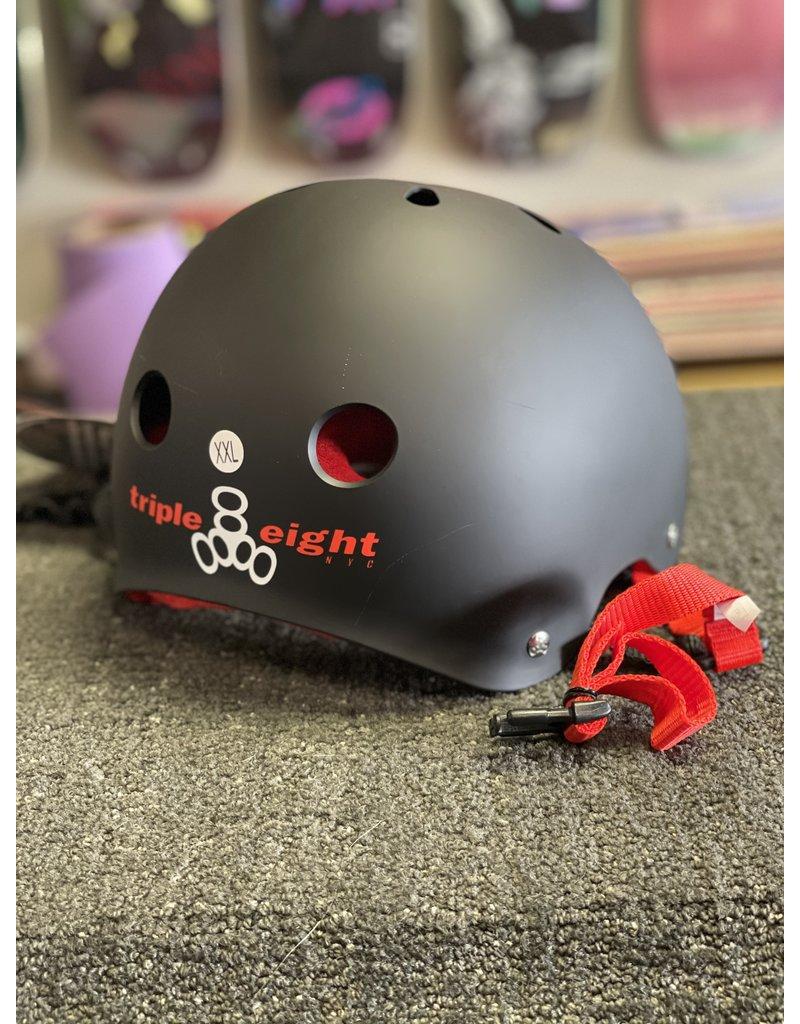 Triple 8 Triple 8 Brainsaver Helmet - Black w/Red