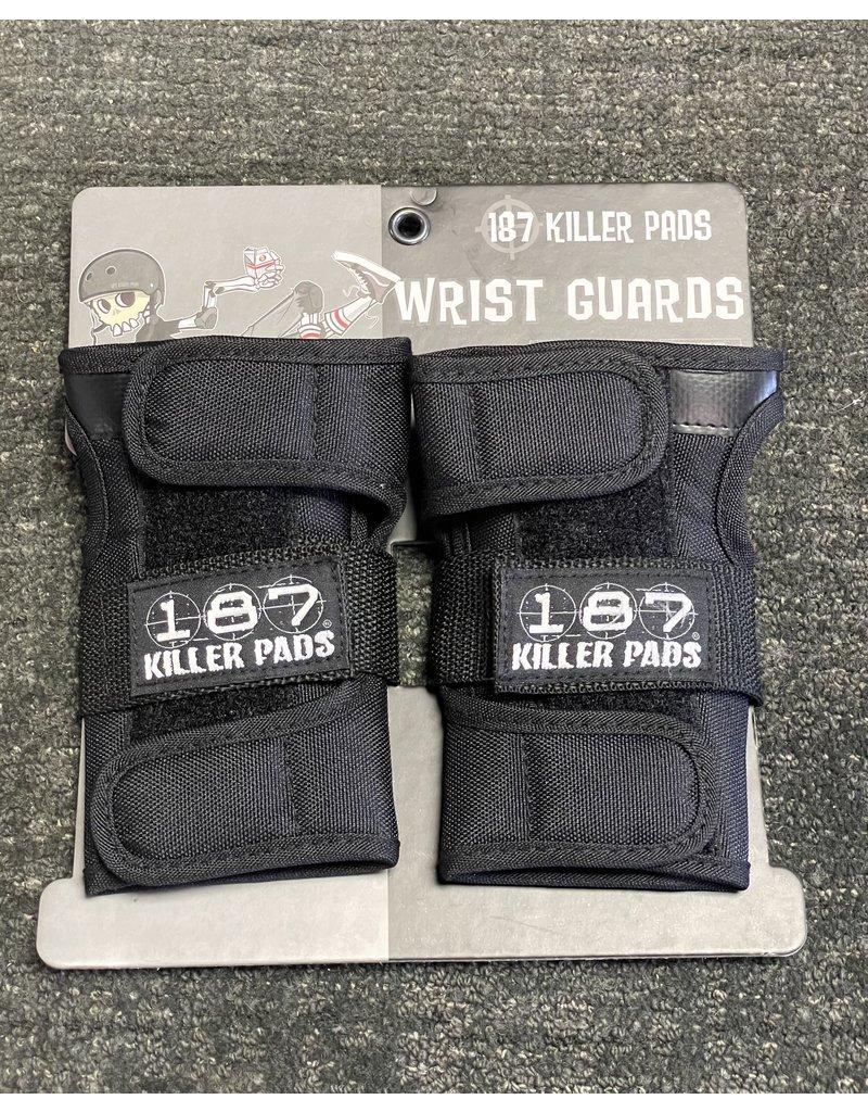 187 Killer Pads 187 Killer Pads Wrist Guards - Black