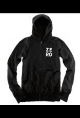 Zero Zero Numero Zip-Up Hoodie - Black (size Large)