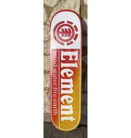 Element Element Team Section Spilt  Yellow/Red Deck - 8.0 x 31.25