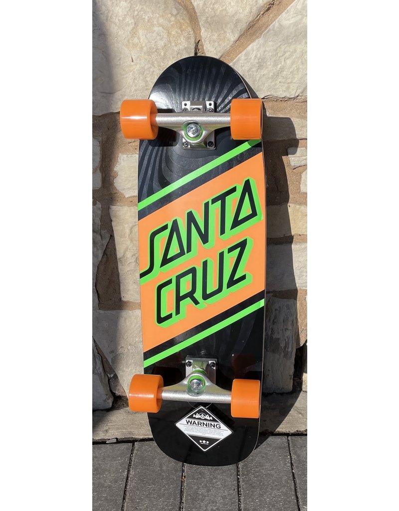 Santa Cruz Santa Cruz Street Skate Green/Orange Cruzer Complete - 8.79 x 29.05