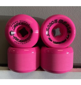 Slime Balls Slime Balls 60mm Scudwards Vomits Neon Pink 95a Wheels (set of 4)