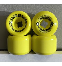 Slime Balls Slime Balls 60mm Scudwards Vomits Neon Yellow 95a Wheels (set of 4)