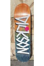 Deathwish Deathwish Dickson Gang Name Orange/Blue Deck - 8.25 x 31.5