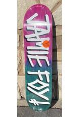 Deathwish Deathwish Jamie Foy Gang Name Pink/Teal Deck - 8.12 x 31.5