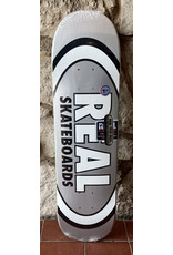 Real Real Team Classic Oval Silver Deck - 7.75 x 31.25