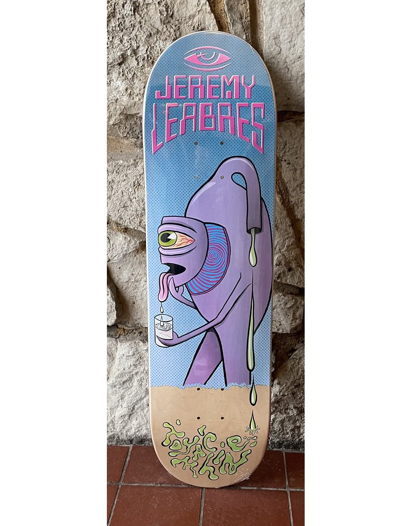 Toy Machine Toy Machine Leabres Face Off Deck - 8.38