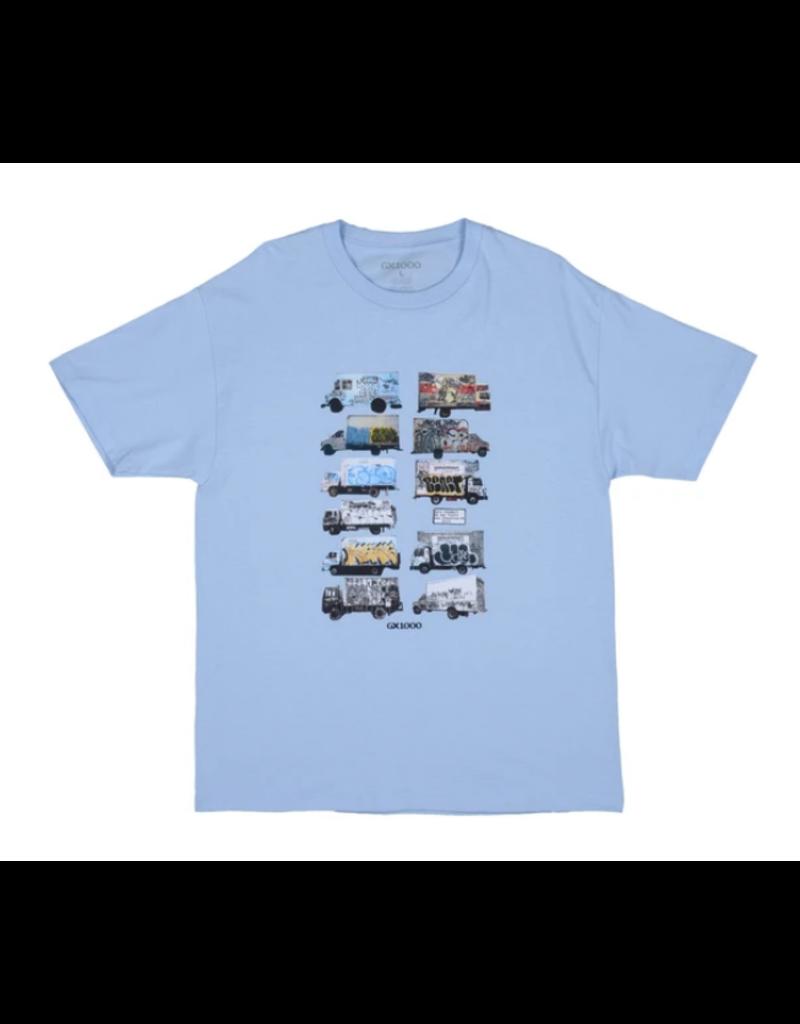 GX1000 GX1000 Box Truck T-shirt - Powder Blue