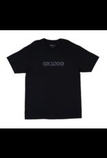 GX1000 GX1000 Dithered Logo T-shirt - Black