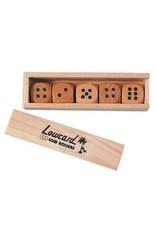 Lowcard Lowcard Wooden Low Rollers Dice