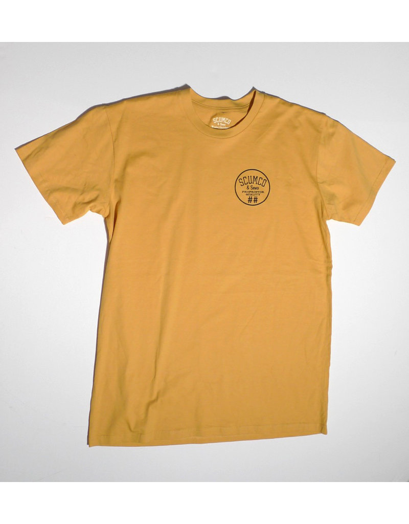 Scumco & Sons Scumco & Sons Logo Midweight T-shirt - 1975 Steel Curtain