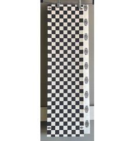 "Jessup Jessup Ultra Grip Black/White Checker Sheet 9"""