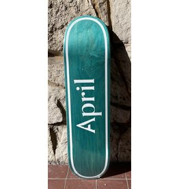 April April Logo Invert Mint Deck - 8.0 x 31.91