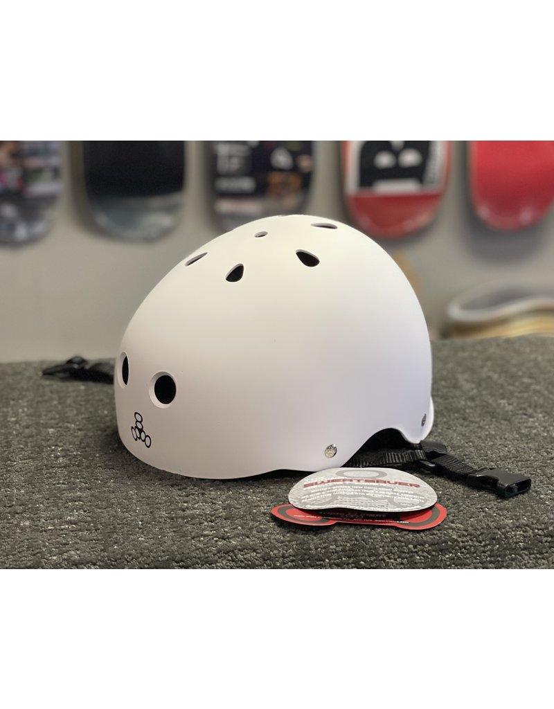 Triple 8 Triple 8 Brainsaver Helmet - White