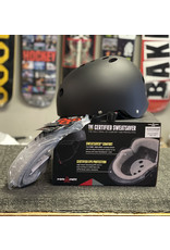 Triple 8 Triple 8 Certified Sweatsaver Helmet - Black Rubber