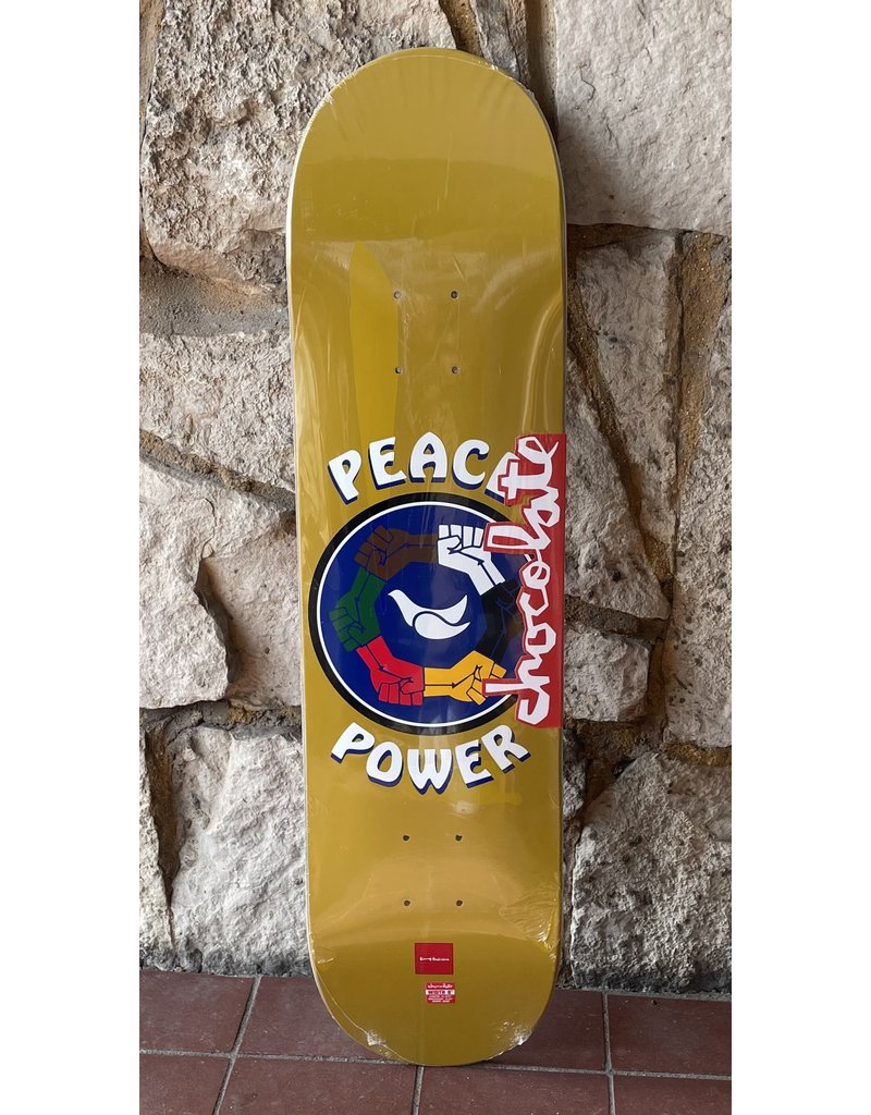 Chocolate Chocolate Anderson Peace Power Deck - 8.0 x 31.875 (G008)
