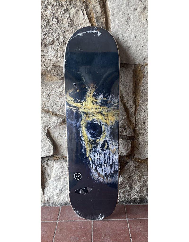 Zero Zero Burman Deville Skull Deck - 8.5