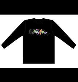 Frog Skateboards Frog Pat G Nightmare Long Sleeve T-shirt - Black (size Medium)