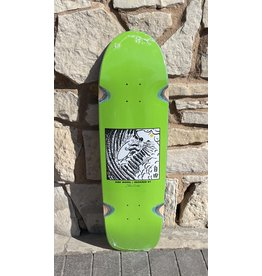 Polar Polar Shin Sanbongi Freedom Lime Deck - 9.0 x 31.5 Surf Sr. Special W/Wheel Wells