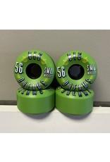 Sml. Sml. Succulent Cruiser Greenies V-Cut 56mm 92a Wheels (set of 4)