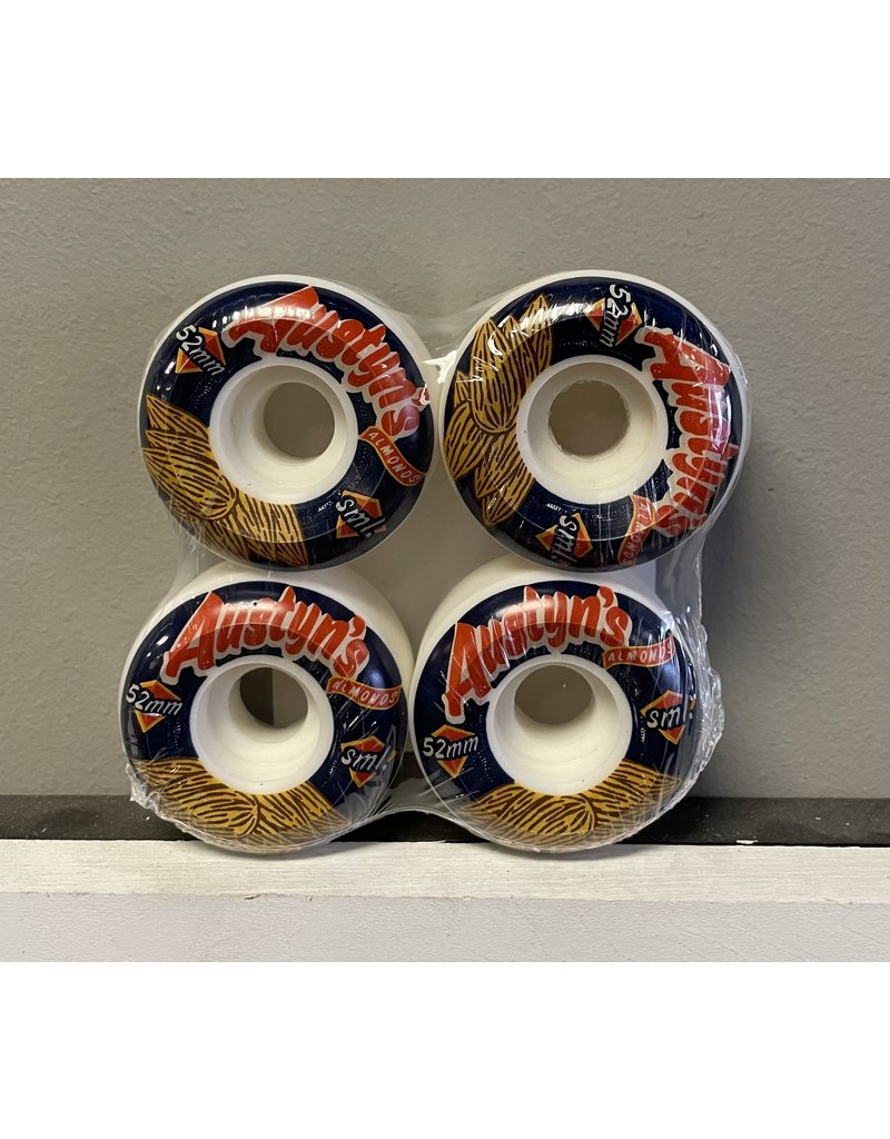 Sml. Sml. Classic Series Gillette 52mm 99a V-Cut Wheels (set of 4)