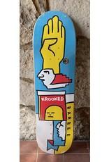 Krooked Krooked Barbee Mondiaan Deck - 8.50 x 31.80