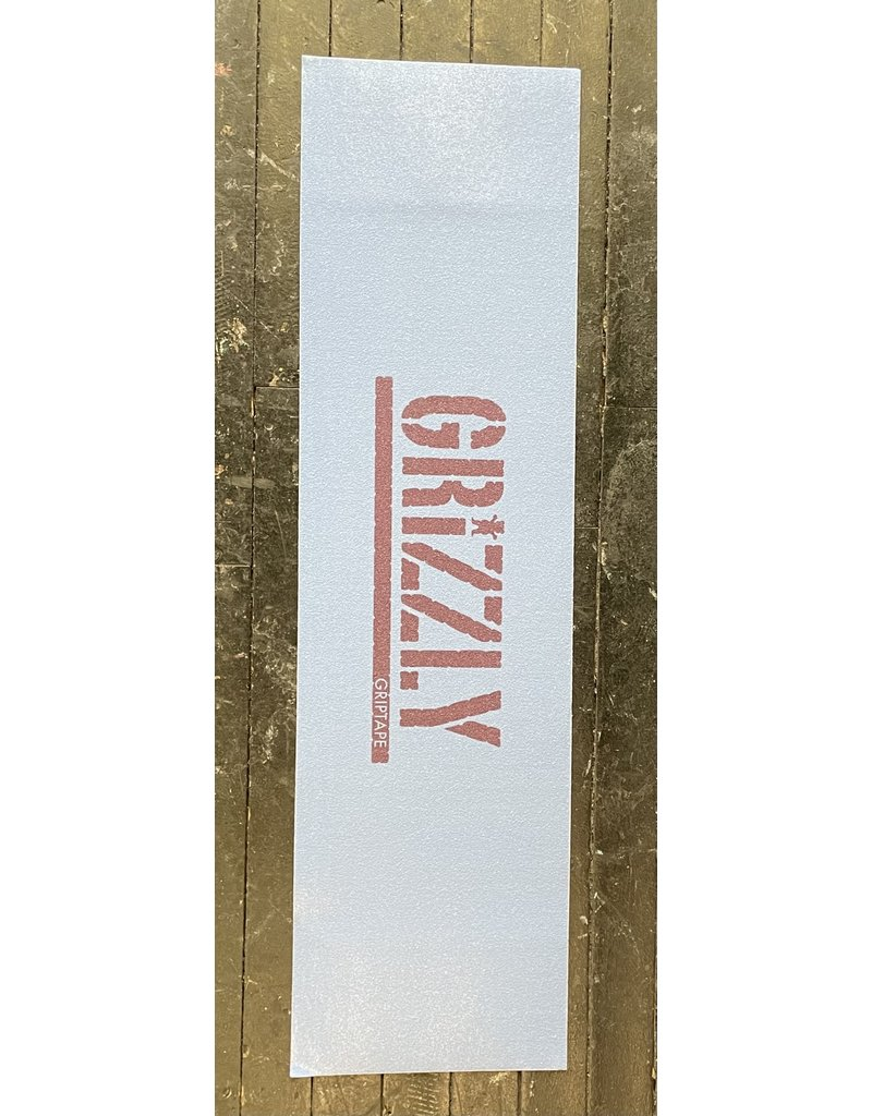 Grizzly Grizzly Stamp Necessities Slate Blue/Burgundy Grip Sheet 9""