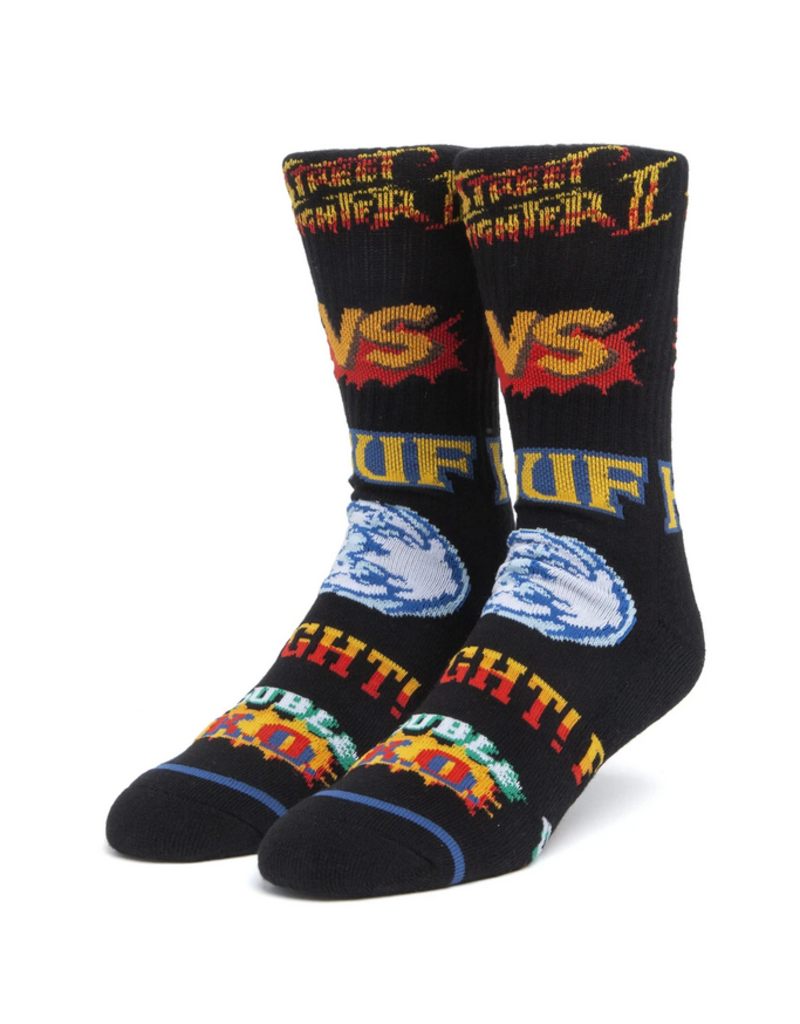 Huf Worldwide Huf Street Fighter Graphic Sock - Black