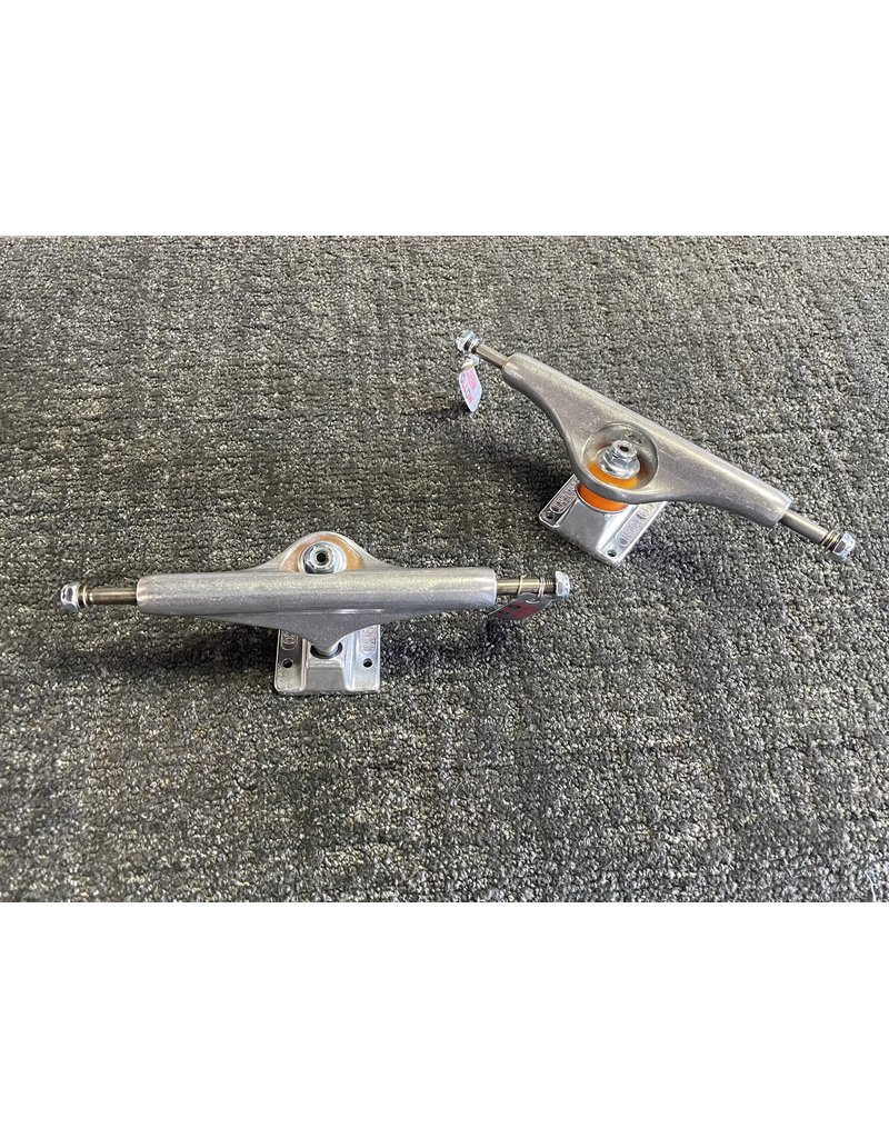 Independent Independent 169  Stage 11 Forged Hollow Silver Trucks (Set of 2)