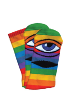 Toy Machine Toy Machine Sect Sock - Rainbow