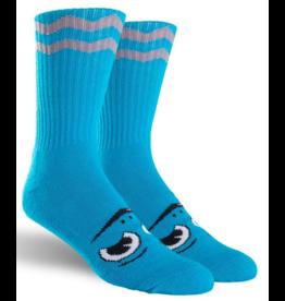 Toy Machine Toy Machine Happy Turtle Sock - Blue