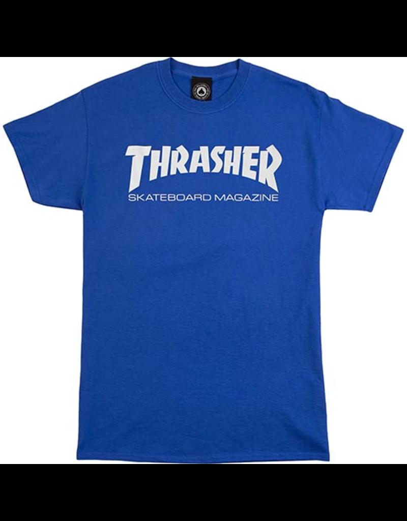 Thrasher Mag Thrasher Skate Mag T-Shirt - Royal Blue