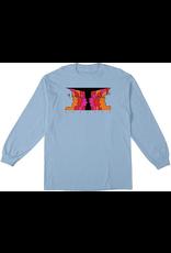Krooked Krooked Face Off Longsleeve T-Shirt - Powder Blue