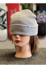 Krooked Krooked Eyes Clip Beanie - Heather Grey
